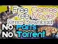 How to get Free Movies,TV Shows and PC Games
