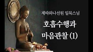 Download lagu 호흡수행과 마음관찰 1ㅣ일묵스님ㅣ2018.06.27.제따와나선원  수요정기법회
