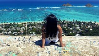 the BEST beach in hawaii? lanikai beach and pillbox hike
