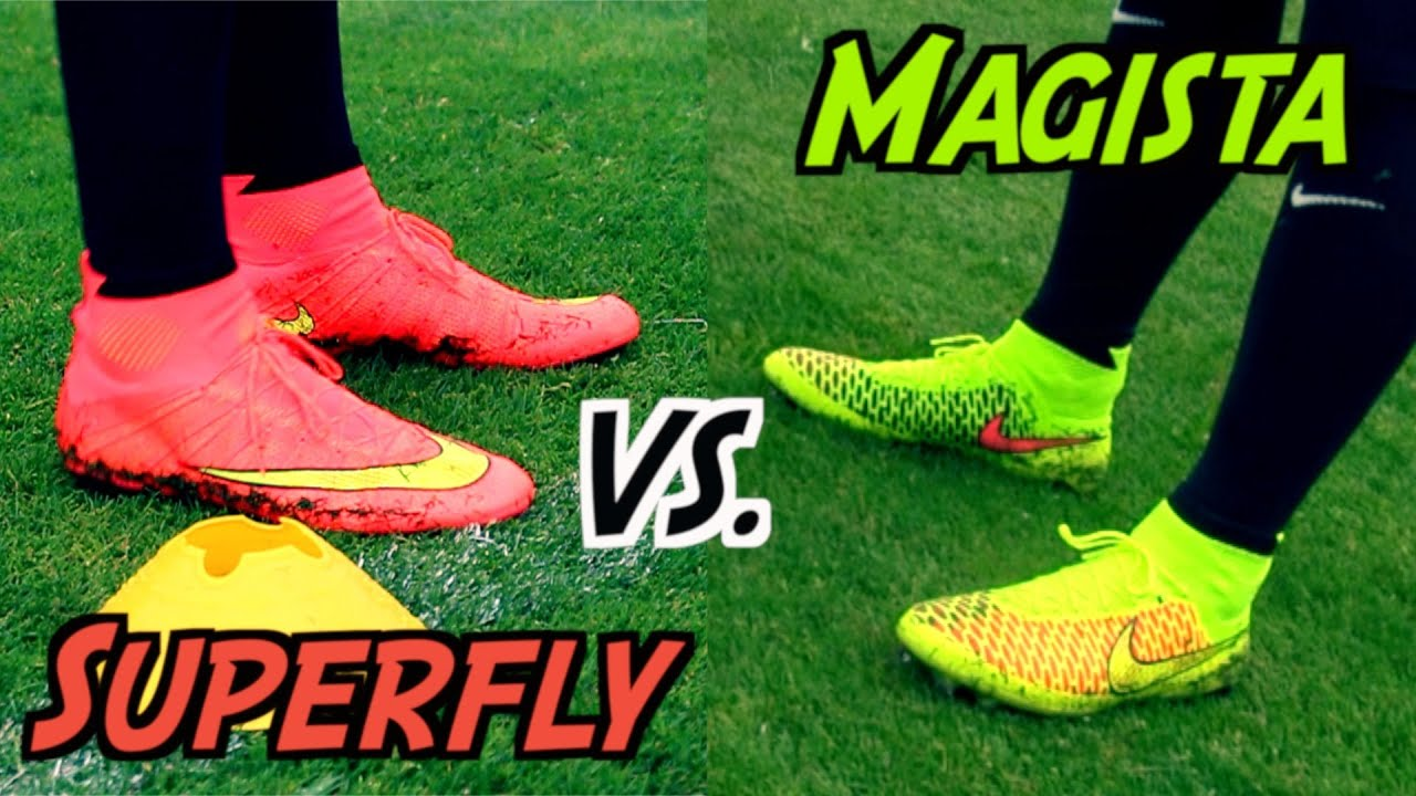 Mercurial Superfly 4 VS. Magista Obra | THE Nike Football Boot Battle 2014  | by 10BRA - YouTube