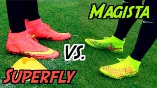 Mercurial Superfly 4 VS. Magista Obra | THE Nike Football Boot Battle 2014 | by 10BRA