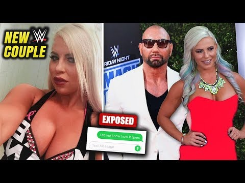 Batista And Dana Brooke's Crazy Real Life RELATIONSHIP! How Did This WWE Couple Really Meet?