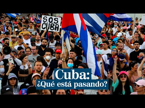Protestas callejeras en Cuba sorprenden al Gobierno comunista de Díaz-Canel