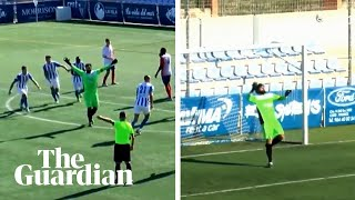 Hero to zero: Goalkeeper scores and then immediately concedes in Spanish football