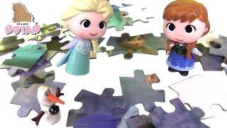 Мультик Холодное Сердце! ЭЛЬЗА И АННА ИГРАЮТ! Пазлы для Детей! Игры для Девочек. Игры для Детей(, 2016-11-02T13:53:00.000Z)