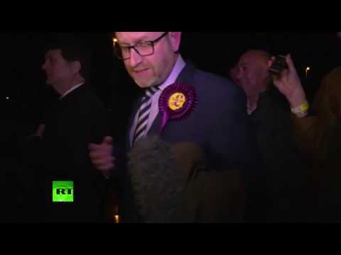 UKIP's Paul Nuttall speaks after Stoke Central by-election loss