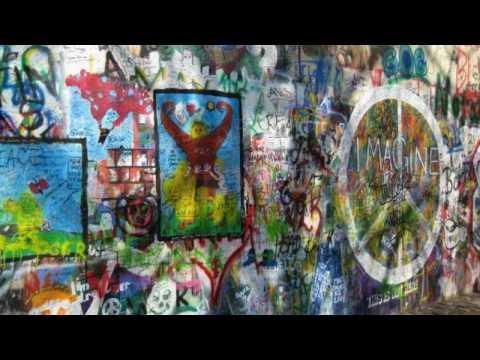 Prague, Praha, Lennon wall, Boat trip, Jipe's videos, Jipen videot