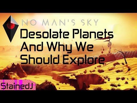 No Man's Sky Desolate Planets