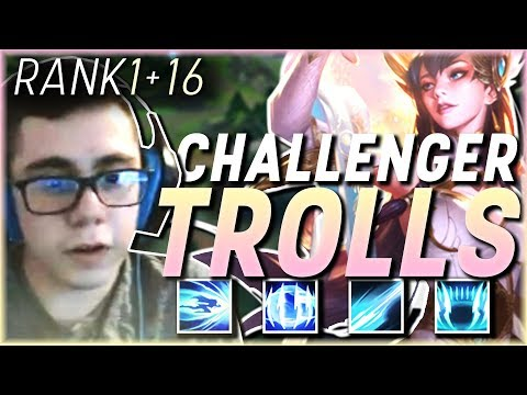TFBlade | Carrying Challenger Trolls // NA Rank 1 & 16