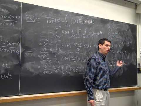 Math372 Fa2013 Lecture26: Midway, Fejer's Theorem