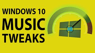 Tweaking Windows 10 for Music Production (2019)