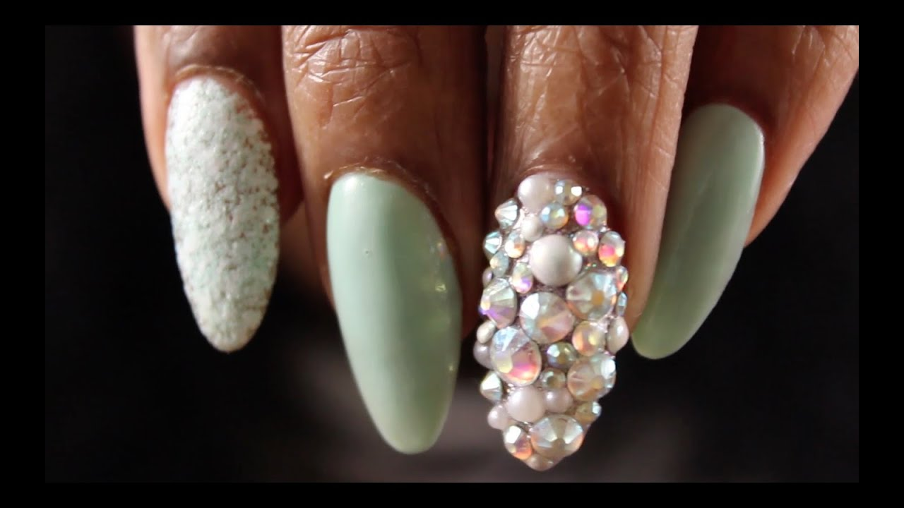 Nails of the Day Essie Spring Color and Easter Egg Look - YouTube