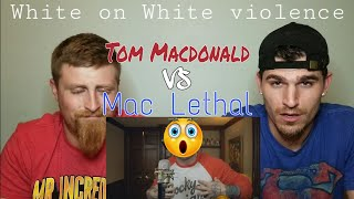 Tom Macdonald vs Mac Lethal (full battle) | {{REACTION}}