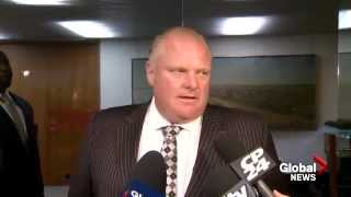 Rob Ford drops out mayor's race, replaced by brother Doug