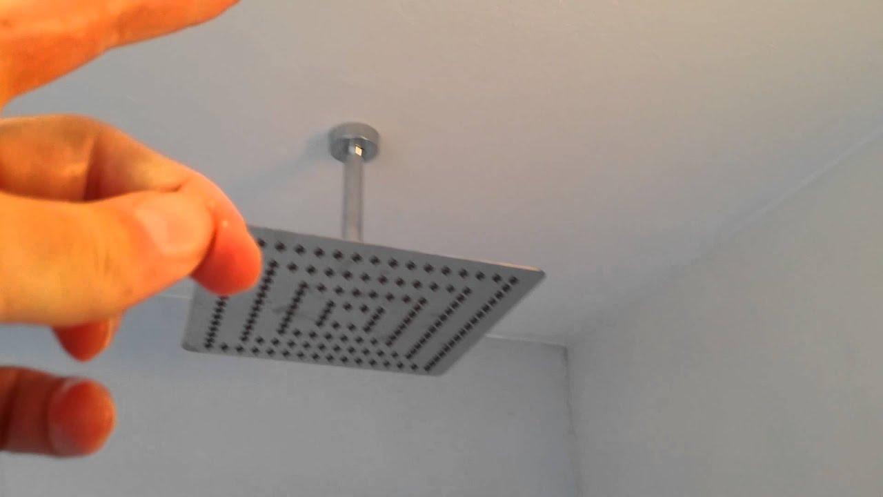Ongekend Regendouche   Nadelen & weinig waterverbruik (zuinige stortdouche ZU-37