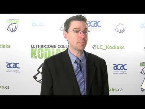 ACAC 2017 Women's Basketball post Game Interview with Medicine Hat Coach Clayton Nielsen