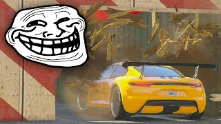 CARRERA TROLL! LA PARED SE ROMPE!! - CARRERA GTA V ONLINE - GTA 5 ONLINE