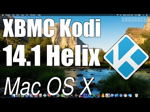 How To Install Kodi 14.1 Helix XBMC Mac OS X MacBook/Pro/Air/iMac/Mac Mini