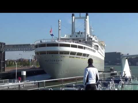 Holland, Cruise in The port of Rotterdam , Une croisière au  Port de Rotterdam