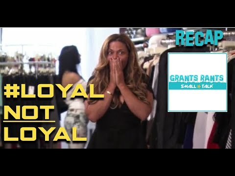 GR Small Talk: Real Housewives of New Jersey Recap S8 Ep8 - #LoyalNotLoyal