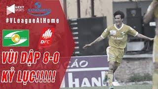 #VLeagueAtHome Sông Lam Nghệ An - ĐTLA | Vùi dập 8-0, đậm nhất lịch sử V.League! | NEXT SPORTS