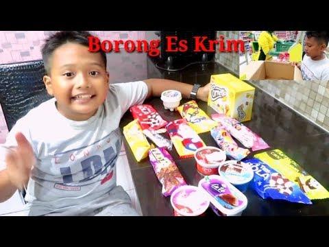 Borong Es Krim Dan Makan Es Krim Sampai Nyerah