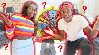 Mystery Wheel Of Challenges (Loser Eats Lemons!!)