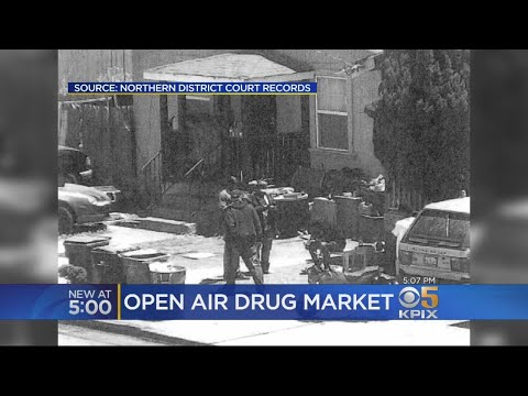Federal, State Agents Bust Open Air Drug Market In East Oakl