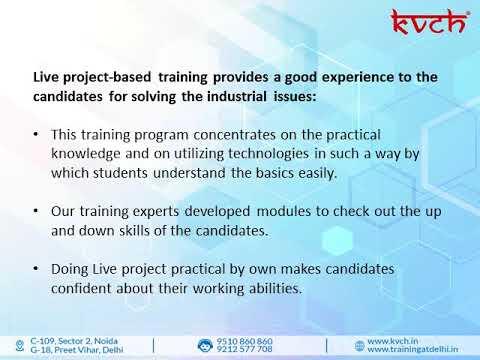 6 months industrial training in Delhi