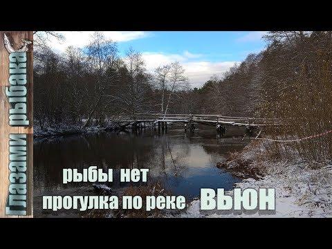 Прогулка по реке вьюн. Рыбы нет.