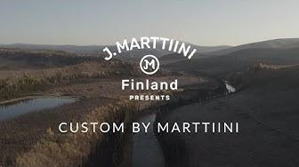 Custom knife by Marttiini – A knife like no other – Larry Daugherty, Alaska