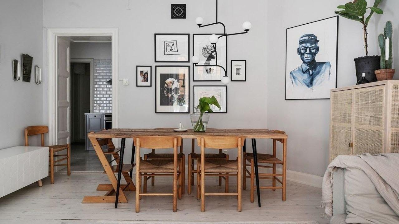tour sunny apartment in Stockholm ▸ Scandi interior design