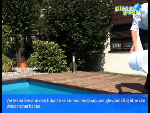 ph wert einstellen im pool so wird 39 s gemacht youtube. Black Bedroom Furniture Sets. Home Design Ideas