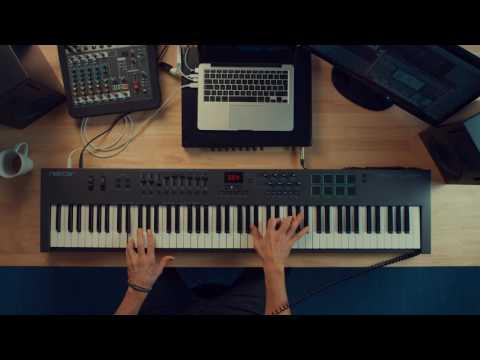 Nektar Impact LX88+ MIDI controller jam