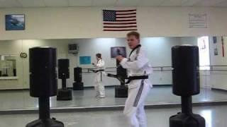 Extreme Martial Arts Tricks, Falls, 540 Sword Kick