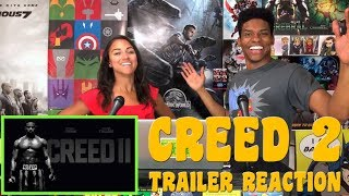 CREED 2 Trailer Reaction