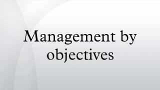видео Метод MBO (management by objectives) - Административная школа управления