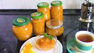 Апельсиновый джем ./Рецепты из апельсинов ./Джем рецепт ./Домашний апельсиновый джем .
