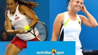 Marion Bartoli vs Jelena Dokic Australian Open 2012 Highlights
