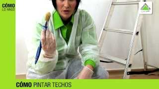 Cómo Pintar Techos Leroy Merlin Youtube