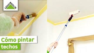 Cómo Pintar Techos Leroy Merlin Youtube