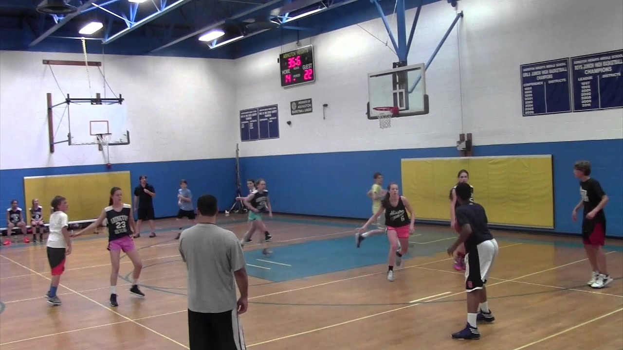 Fun Boys Vs Girls Games : AHMS 8th Grade Boys Vs Girls Basketball Game 2014 - YouTube