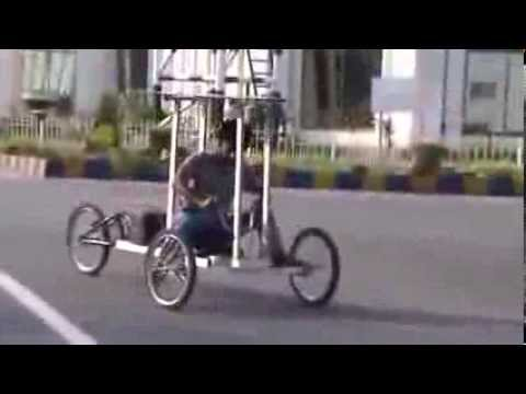 Solar powered vehicle Pakistani talent