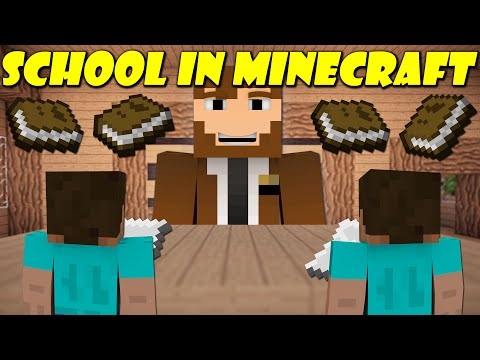 Thumbnail: If School Was In Minecraft
