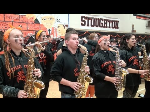 Stoughton High 2017 Thanksgiving Pep Rally