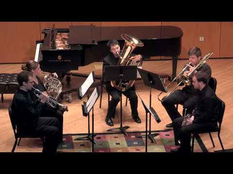 """Brass Quintet no. 1""  composed by Nicole DeMaio