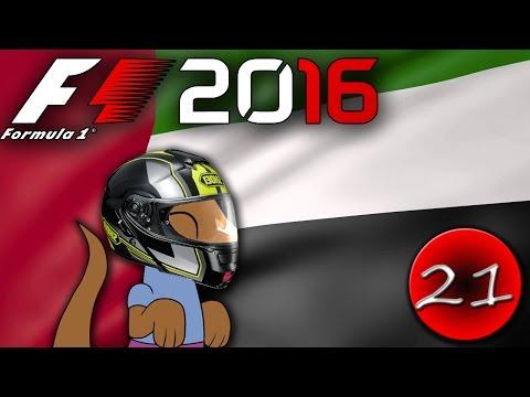 LOUČENÍ - F1 2016 Kariéra - CZ Let's Play - závod 21. - VC UAE