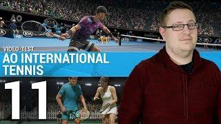 AO INTERNATIONAL TENNIS :  Mais où est le fun ?   TEST