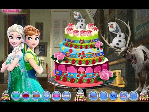 Frozen Fever Birthday Cake Disney Princess Annas Birthday Girl