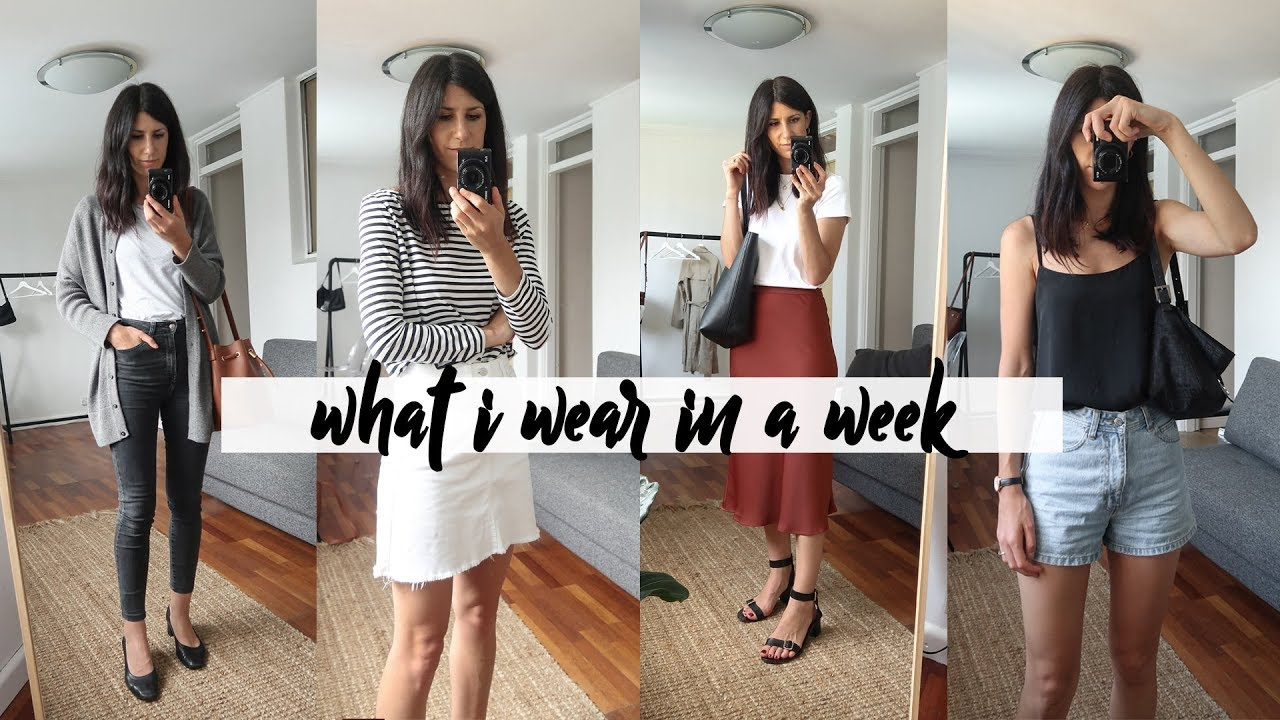 A Week in Outfits #16 - Casual summer outfits & working from home | Mademoiselle 7
